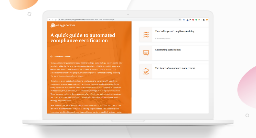 Automated Compliance certifictaion