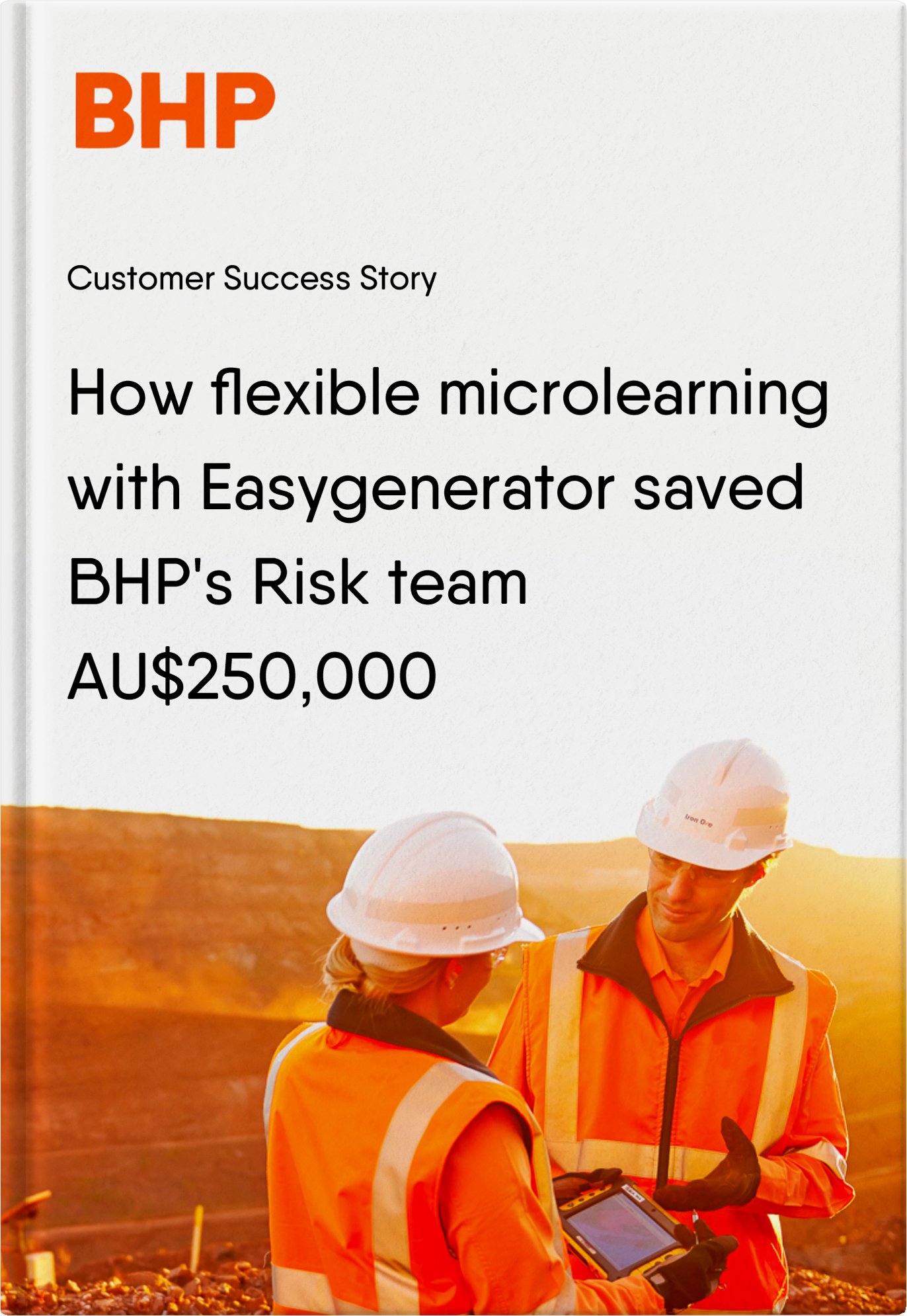 How microlearning with Easygenerator saved BHP over 250000 australian dollars!